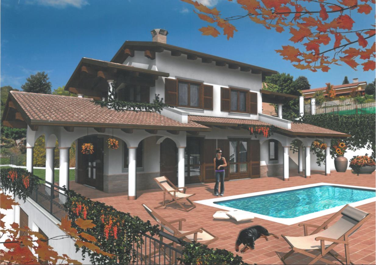 Villa in costruzione