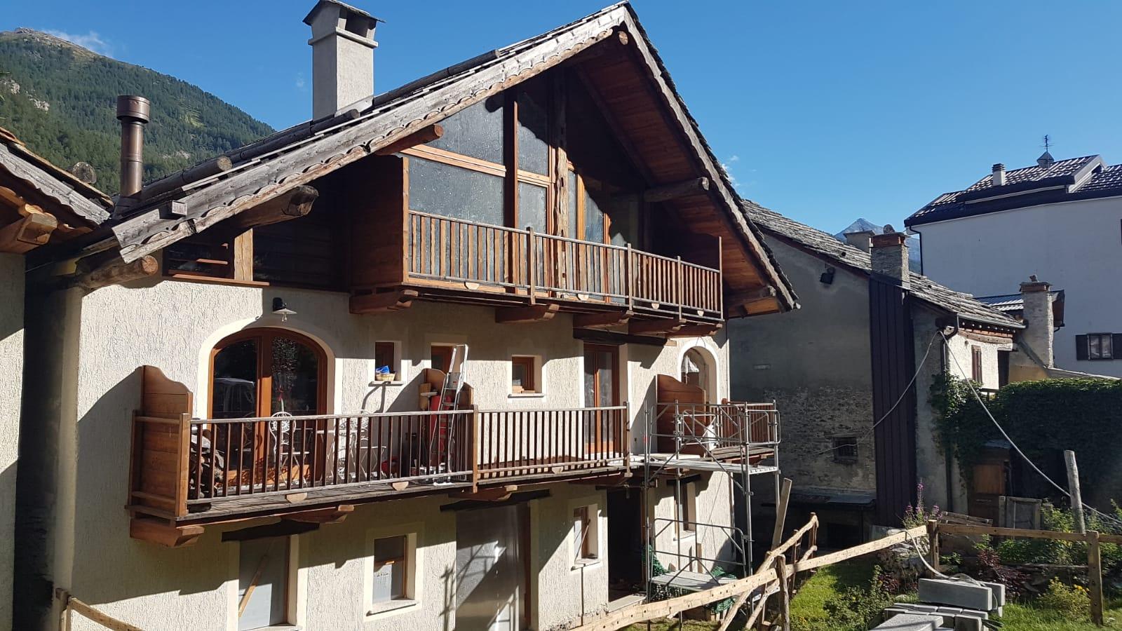 """Spazioso alloggio in """"Grangia Bancour"""""""