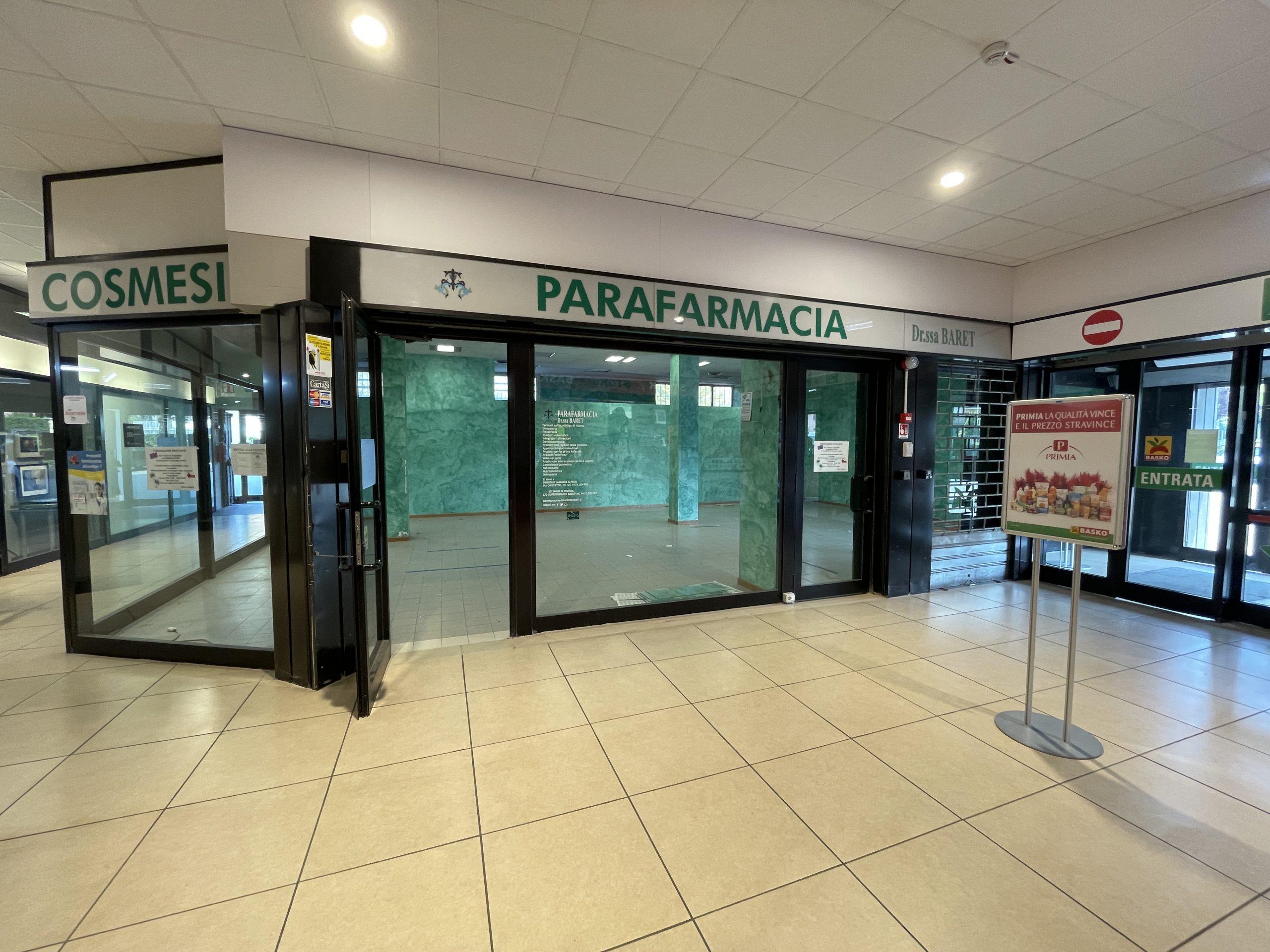 Ampio locale commerciale con grande visibilità nel centro commerciale Basko